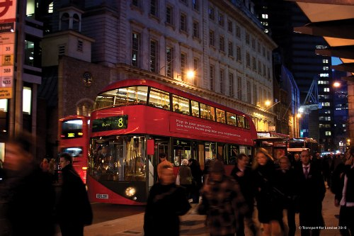 nuevo autobus londinense