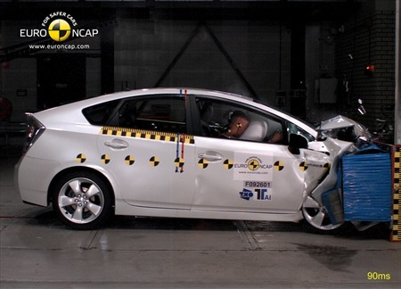 Toyota Prius Crash Test